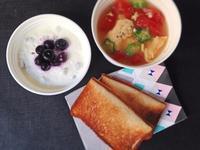 8/23レンチントマ玉スープ弁当 - ひとりぼっちランチ