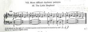 プチ練習No.1 The Little Shepherd -