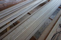 ホワイトアッシュ巾木7x35mm - SOLiD「無垢材セレクトカタログ」/ 材木店・製材所 新発田屋(シバタヤ)