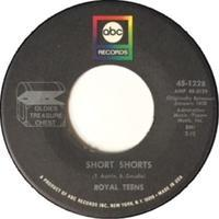 Royal Teens / Joe Bennett & The Sparkletones – Short Shorts / Black Slacks - まわるよレコード ACE WAX COLLECTORS