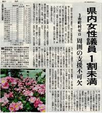 女性議員の割合@富山県 - FEM-NEWS