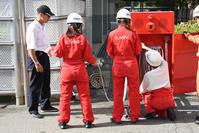 始まりました!自衛消防練習会 - 立川のいまはここ
