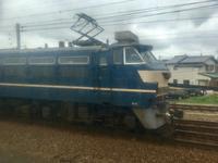 初めてのEF66-27。 - 子どもと暮らしと鉄道と
