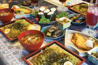 ■続・お盆のおもてなし料理【明太子おにぎりとけんちんつけ蕎麦ランチ他】 - 「料理と趣味の部屋」
