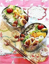 カニカマキャベツ入り白はんぺん焼き弁当と今夜のおうち呑み♪ - ☆Happy time☆