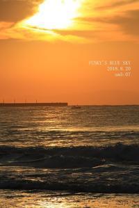 さよなら夏umi2018・Ⅱ(キミの瞳の先にあるのは・・) - FUNKY'S BLUE SKY
