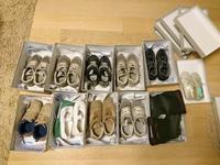 サイズアウトした靴の収納 - ordinary days