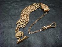 アンティーク懐中時計用飾り - アンティーク(骨董) テンナイン