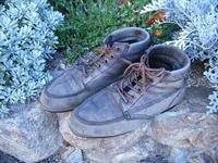 長年愛用のワークブーツをリペア - 双 極の調べ