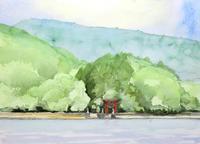 野尻湖・夏 - ryuuの手習い
