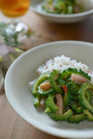 夏のお惣菜 三種 - 食卓の風・・・