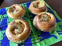 カレーチェダーオニオンとワンプレート - カフェ気分なパン教室  ローズのマリ
