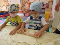 【南品川園】大きいきのこピザを作ったよ - ルーチェ保育園ブログ  ● ルーチェのこと ●