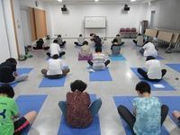 戸板女性学級 第3回 「ヨガ教室」 - 金沢市戸板公民館ブログ