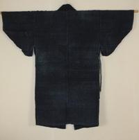 古布木綿庄内紙縒り野良着Japanese Antique Textile Koyori-paper Noragi - 京都から古布のご紹介