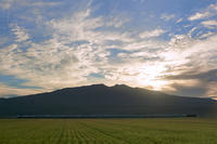 早朝の鳥海山麓を行く - 京の彩紋様++