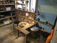 ウサジ工房すこしだけ模様替え - 週末陶芸家 フジサキウサジ