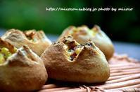 ポテトフランス - 森の中でパンを楽しむ