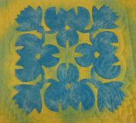 NKさん☆water lily 完成... - ほっと一息・・~Sakura's Hawaiian QuiltⅡ
