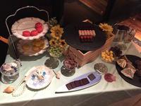 食後はラウンジテラスでスイーツワゴン  - mayumin blog 2