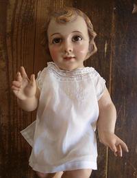 眠る幼子キリスト像 39cm ネイティビティ / F512 - Glicinia 古道具店
