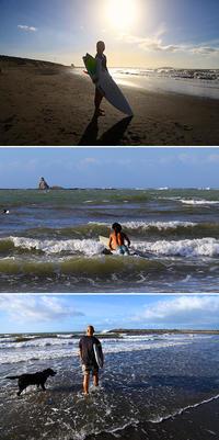 2018/08/25(SAT) 週末の海には風波が残る......。 - SURF RESEARCH