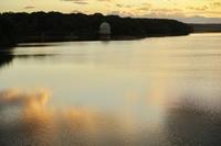 絶景夕陽@多摩湖 - じゅうべえな日々♪