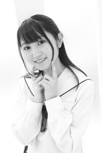 白井花奈ちゃん17 - モノクロポートレート写真館