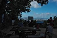 [山]牛田山を馬蹄形に歩く(2018/08/26) - まるさん徒歩PHOTO 3:SLやまぐち号・山風景など…。 (2015~)