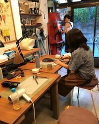 サンダルワークショップ2018Vol2 - 手づくり靴 仄仄工房(ホノボノコウボウ)