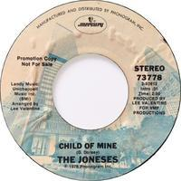 The Joneses – Child Of Mine / In A Good Groove - まわるよレコード ACE WAX COLLECTORS