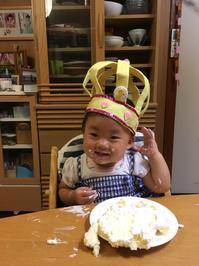 一歳のお誕生日 - 五十路を過ぎてブログに挑戦