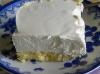 ヨーグルトケーキ(クリームチーズで) - 【愛と怒涛のけいこ飯】  夫はナニジン?  不思議の国の新・国際結婚