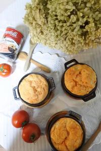 キャンベルスープで簡単トマトスフレ♪ - ヒトリゴトゴハン