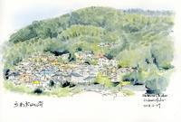 大山埼の風景 - 風と雲