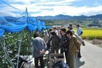 9月15日・みたまの湯収穫体験イベントのツアーの紹介 - Hotel Naito ブログ 「いいじゃん♪ 山梨」