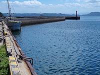 日曜日は天草下島へクロ釣りに行く - ステンドグラスルーチェの日常