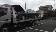 稲城市からレッカー車で車検の切れた不動車を廃車の出張引き取りしました。 - 廃車戦隊引き取りレンジャー