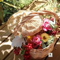 """秋期のご案内:重要文化財自由学園明日館公開講座 """"花""""ある暮らし「亮子さんのフラワーレッスン」 - Bouquets_ryoko"""