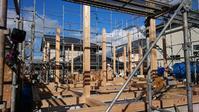 武岡の家建て方です。 - 木楽な家 現場レポート