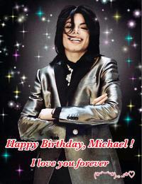 Happy birthday Michael! - Mj Smile