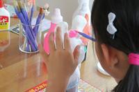 作品の仕上げ - 大阪府池田市 幼児造形教室「はるいろクレヨンのブログ」