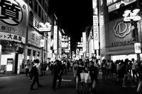 センター街の夜 - 節操のない写真館