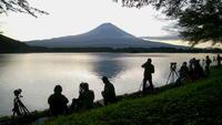 30年8月の富士(30)田貫湖のダイヤモンド富士 - 富士への散歩道 ~撮影記~