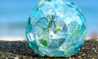 ガラスと遊ぶ - 雲空海