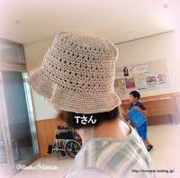 生徒さんの作品帽子♪ - ルーマニアン・マクラメに魅せられて