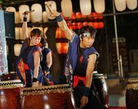 湊川神社夏祭り(4)献灯祭宵宮祭・和太鼓集団ホッと太鼓 - たんぶーらんの戯言