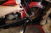 日・月・火曜日の授業風景 - Vintage motorcycle study