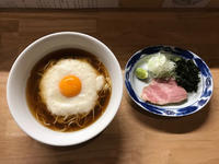 金沢(安江町):麺屋 白鷺 「冷やしとろろそば・しょうゆ」 - ふりむけばスカタン