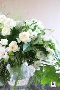 White&Green Spiral Bouquet - Bouquets_ryoko